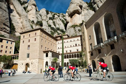 The Magic Mountain tour of Montserrat by Road Bike