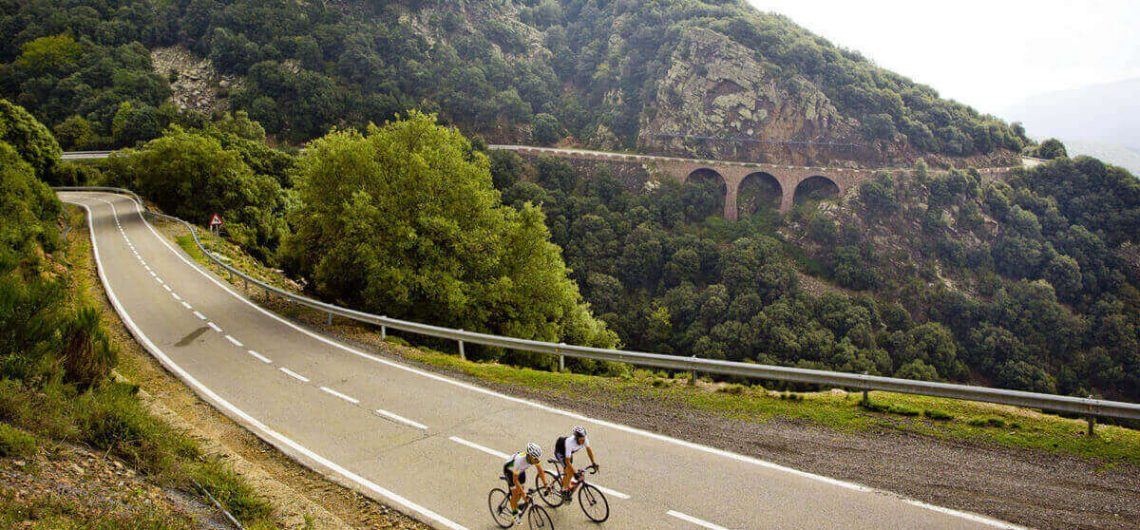 The Amazing Cycling tour of the Montseny Mountains