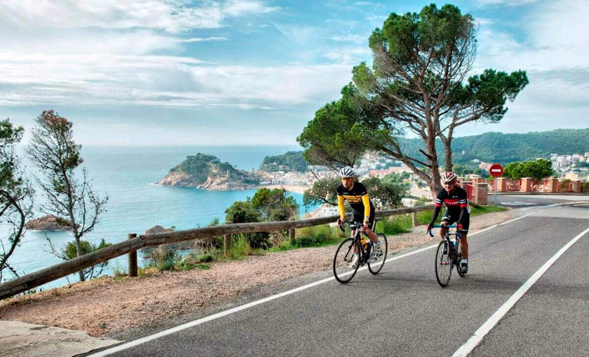 The Best Road in Catalonia tour of Costa Brava by Road Bike