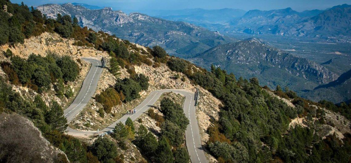 Road Cycling Mont Caro Tarragona