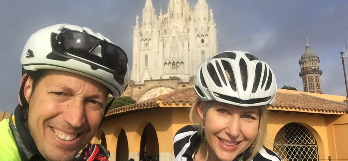 Barcelona Tibidabo Cycling