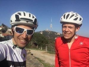 Barcelona hills cycling