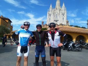 Our guide Adrià had today Soren and Michael from Denmark, and showed them the best roads around Barcelona. Amazing views, tough climbs and good roads around Barcelona!