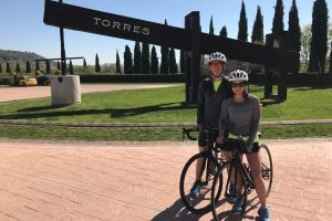 Wine and cycling-Penedes