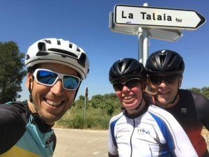 Roadcycling in Penedes