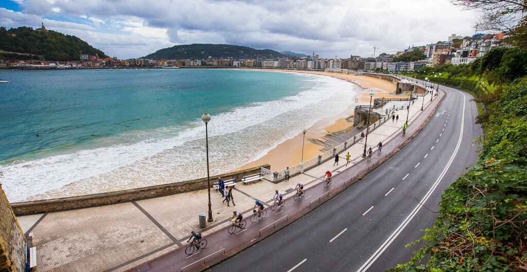 Cycling in San Sebastián
