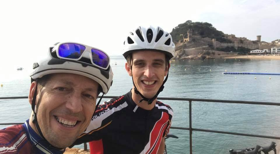 Cycling in Tossa de Mar