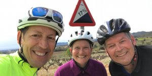 Cycling in Penedes Barcelona