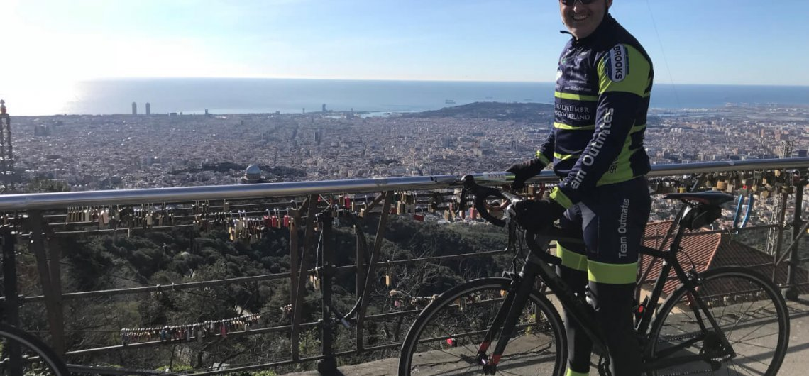 Barcelona roadcycling mountains