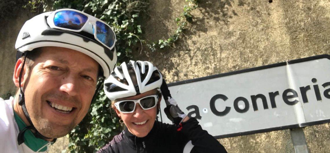 Cycling in La Conreria