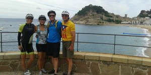 Cycling Tossa de Mar