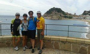 Cycling Tossa de Mar