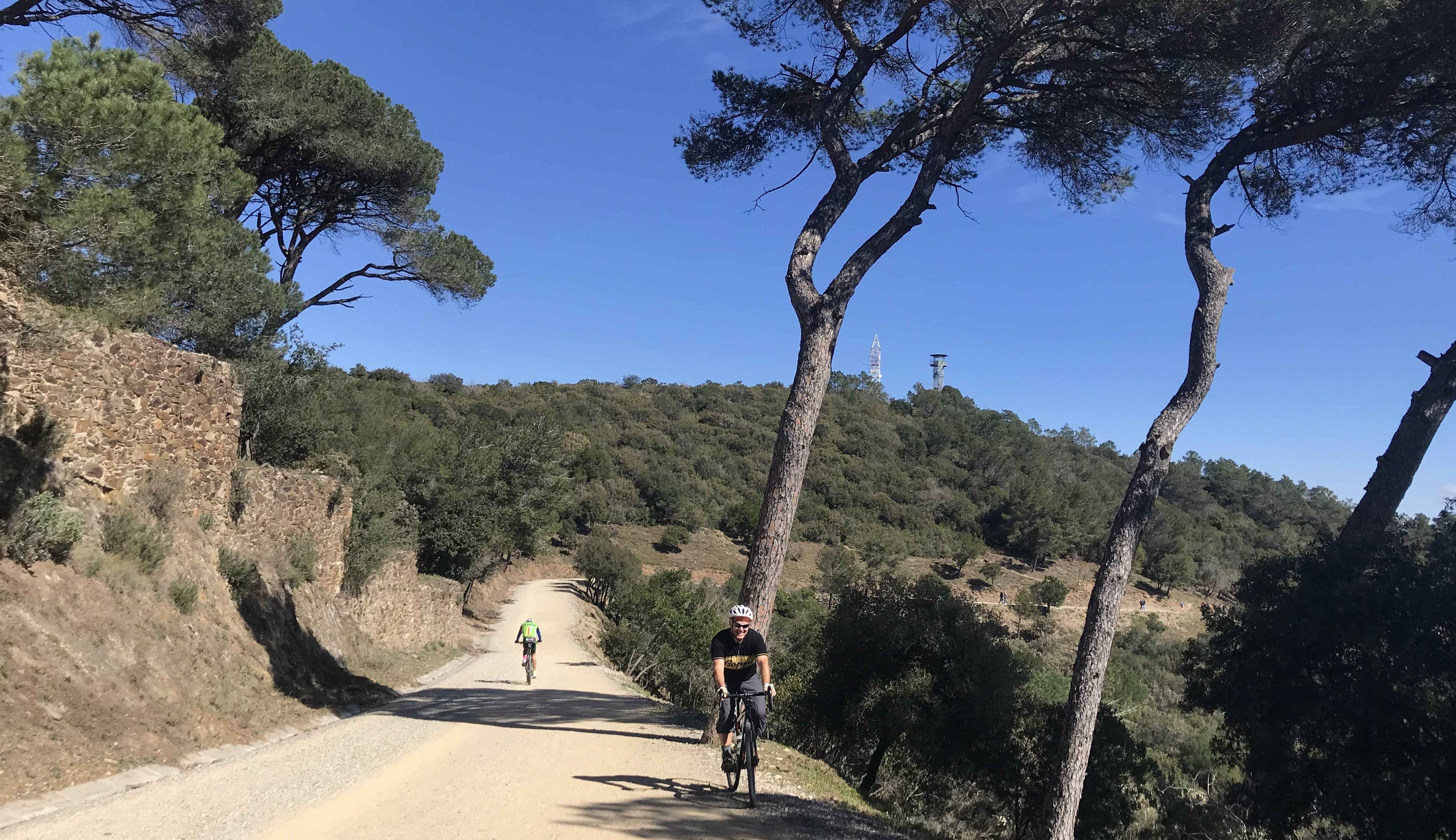 Gravel cycling around Barcelona