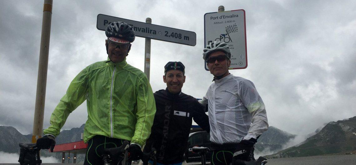 Cycling Envalira Pyrenees