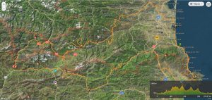 Cycling catalan Pyrenees